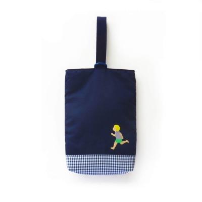 シンプルなシューズ袋
